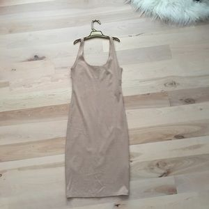 Nude Body Con Dress! (NEW)